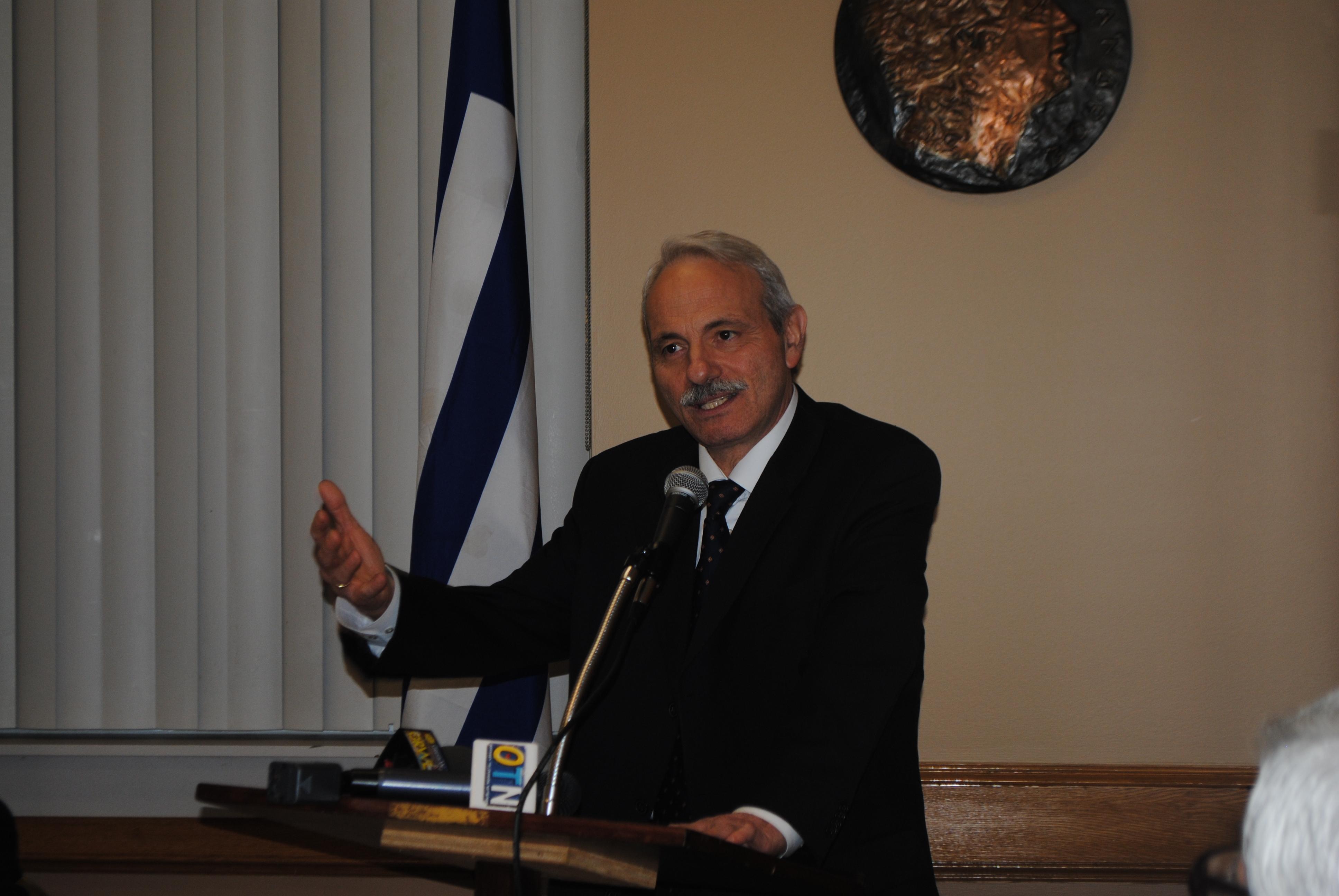"H πρώτη συνέντευξη του νέου Πρέσβη της Ελλάδος στον Καναδά  κ. Γεώργιου Μαρκαντωνάτου στην εφημερίδα ""Embassy"""