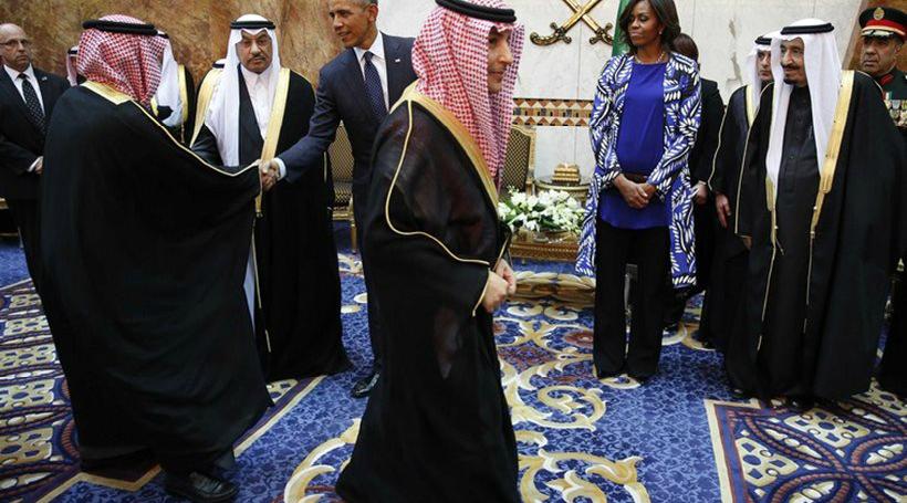 Τα δύο… θανάσιμα αμαρτήματα της Μισέλ Ομπάμα στη Σαουδική Αραβία