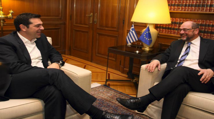 Σουλτς: Ελπίζω η υπέροχη χώρα σας να παραμείνει στην ευρωπαϊκή πορεία…