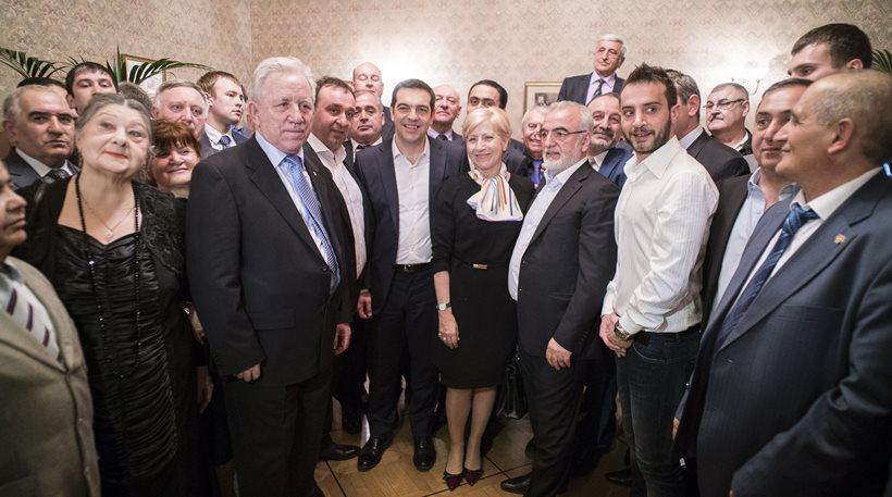 Συνάντηση Τσίπρα με ομογενείς της Ρωσίας