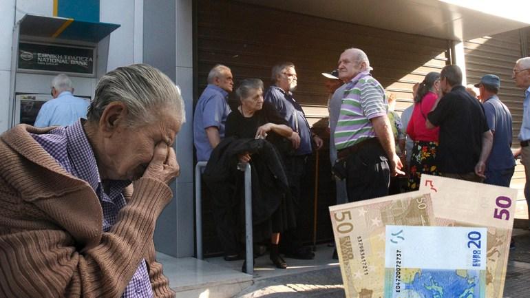 Συνταξιούχοι στην ουρά για 120 ευρώ