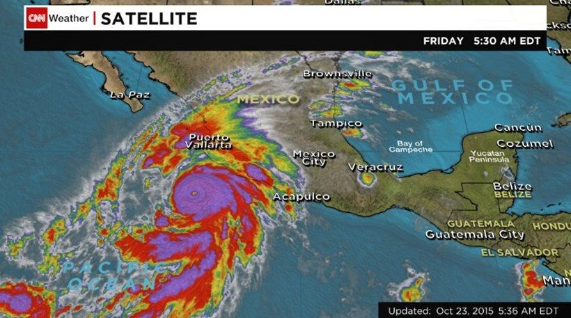 Ο ισχυρότερος τυφώνας της ιστορίας πλησιάζει στις ακτές του Μεξικού – Σε πανικό οι κάτοικοι