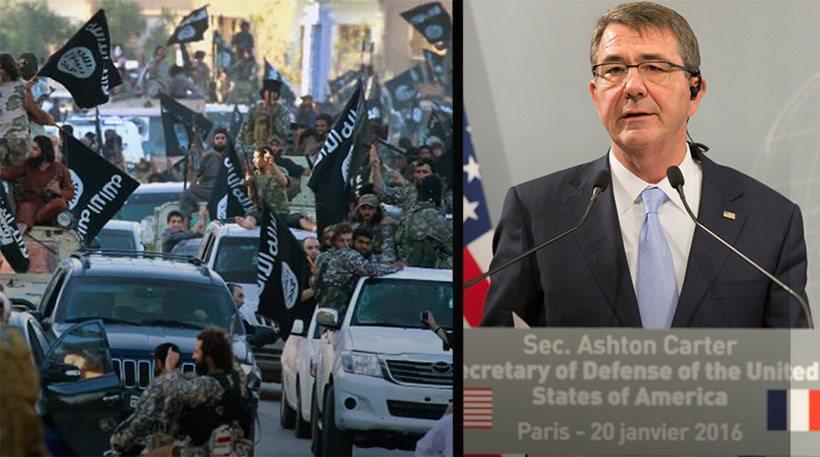 Χερσαίες επιχειρήσεις σε Ιράκ και Συρία προαναγγέλλει ο Αμερικανός υπουργός Αμύνης