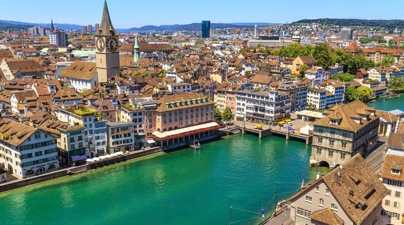 Ελβετία: Εθνικός μισθός 2.253 ευρώ για κάθε πολίτη