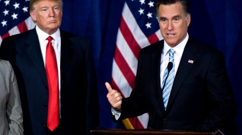 Μιτ Ρόμνεϊ: Ο Τραμπ είναι απατεώνας και επικίνδυνος για τις ΗΠΑ