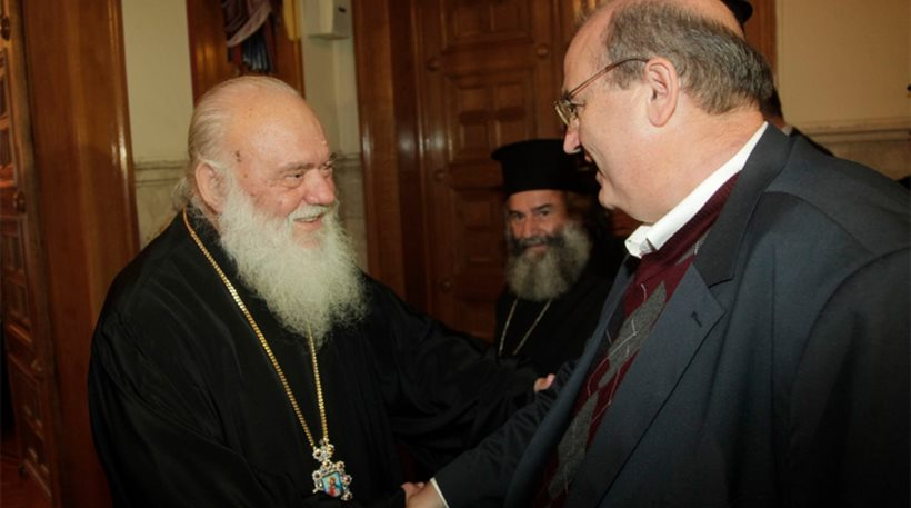 Ιερώνυμος: Χωρίς συναίσθηση μιλά για την Εκκλησία ο Φίλης