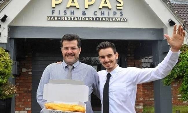 Κύπριος ο ιδιοκτήτης του καλύτερου εστιατορίου της Αγγλίας
