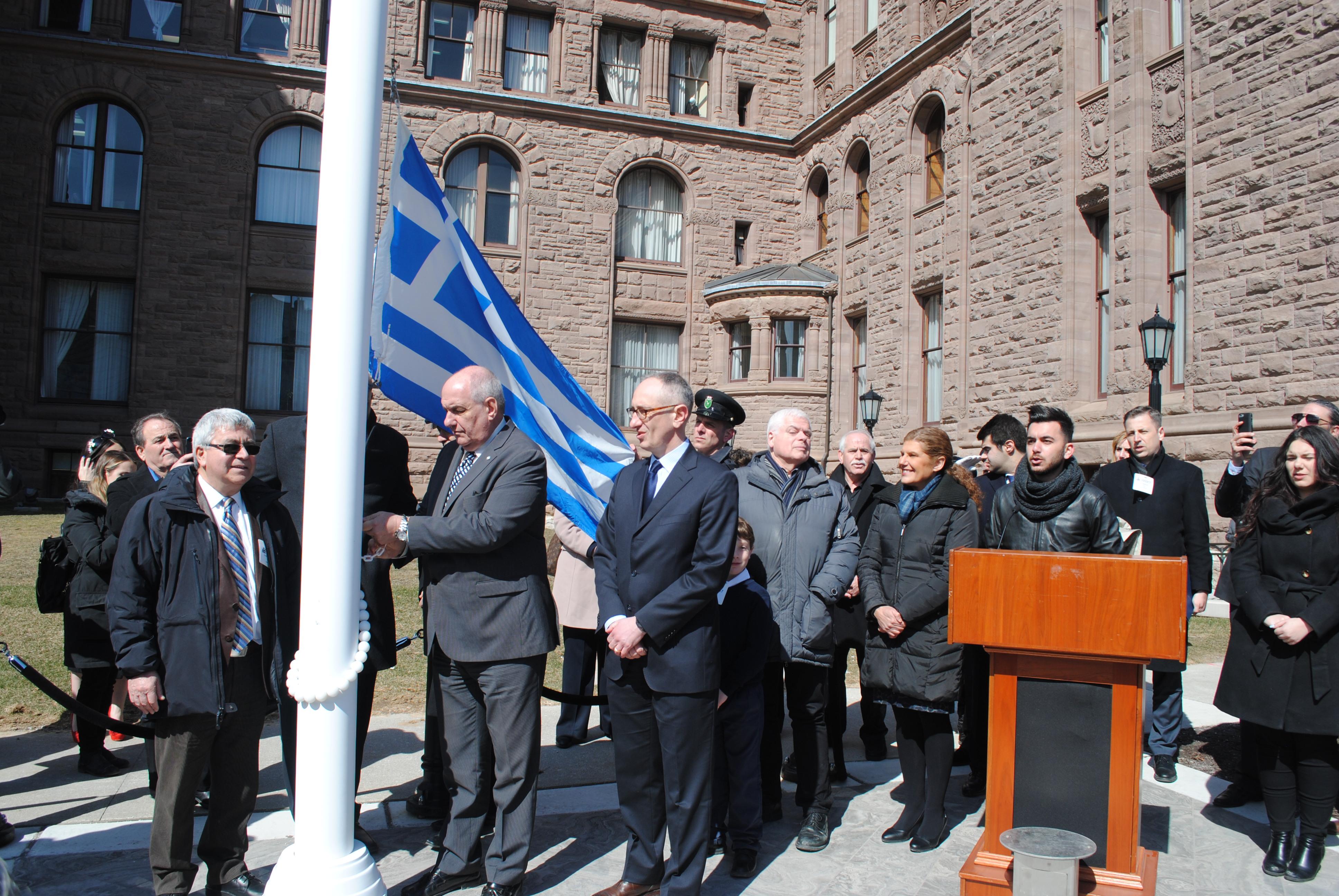 Τέρενς Κουίκ, ένα «Ελληνάρας» Υφυπουργός Εξωτερικών της Ελλάδος στον Καναδά