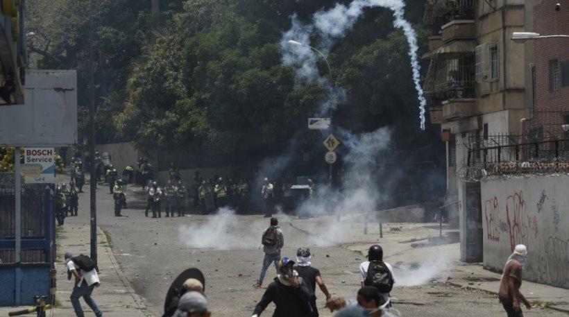 Βενεζουέλα: Νεκρός διαδηλωτής στο Καράκας – Πυροβολήθηκε στο κεφάλι