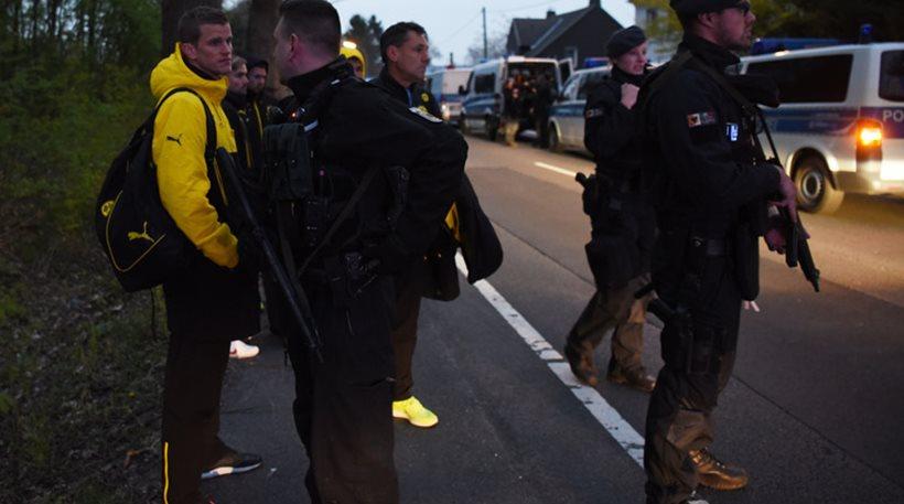 Μία σύλληψη για την επίθεση στο πούλμαν της Ντόρτμουντ