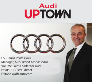 Audi Uptown Front Page