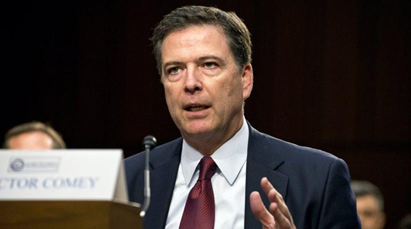 Τζέιμς Κόμεϊ: Ο Τραμπ δυσφήμησε με ψέματα εμένα και το FBI