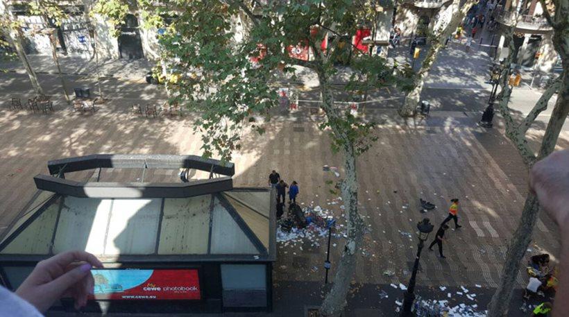 Τρεις Έλληνες στους τραυματίες της Βαρκελώνης
