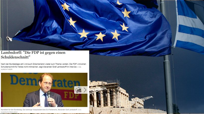Θέμα Grexit επαναφέρουν οι Φιλελεύθεροι της Γερμανίας