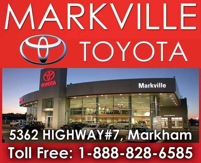 Markville Toyota Front Page