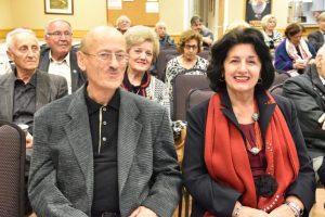 Η κα Ειρήνη κι ο κ. Θόδωρος Κερογλίδης