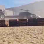 Μύκονος: Έρευνα από την ΥΠΑ για την προσγείωση του ελικοπτέρου στην παραλία